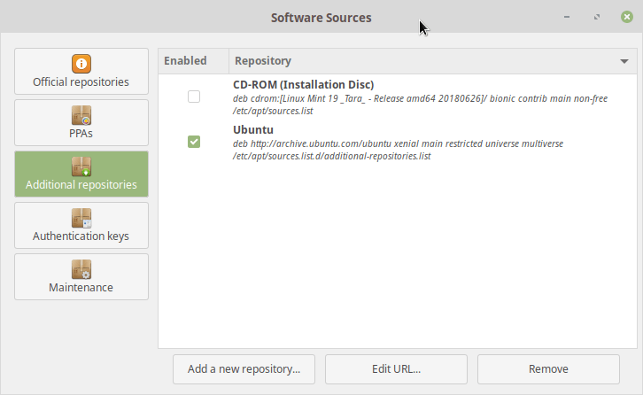 Upgrade to Linux Mint 19 (Ubuntu 18 04) - Heiko's Blog