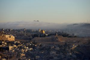Jerusalem at dawn