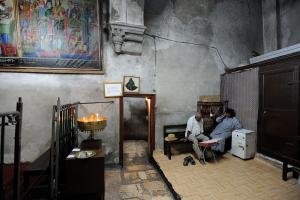 Ethiopian chapel at the Church of the Holy Sepulchre