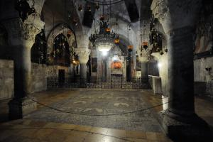 Armenian chapel in the Church of the Holy Sepulchre