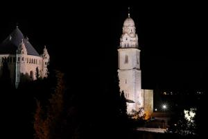 Dormition Church by night